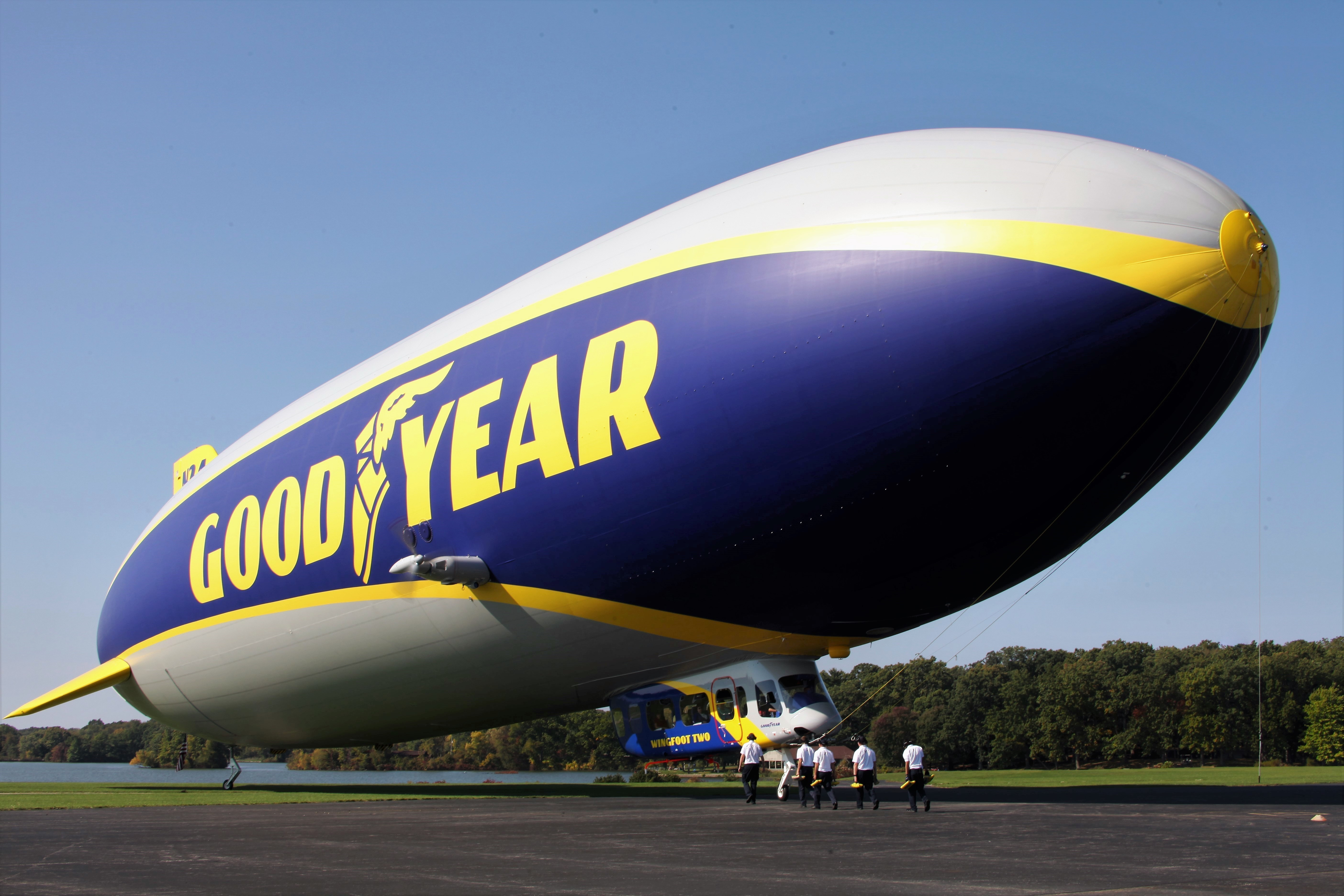 Goodyear christens replacement airship - The Blade