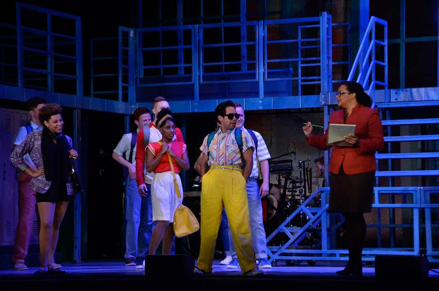 The Celebrated 80s Musical Fame Comes To The Valentine