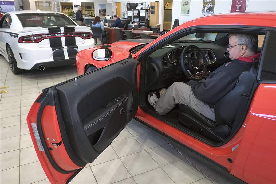analysts anticipation for new wrangler behind sales dip the blade. Black Bedroom Furniture Sets. Home Design Ideas