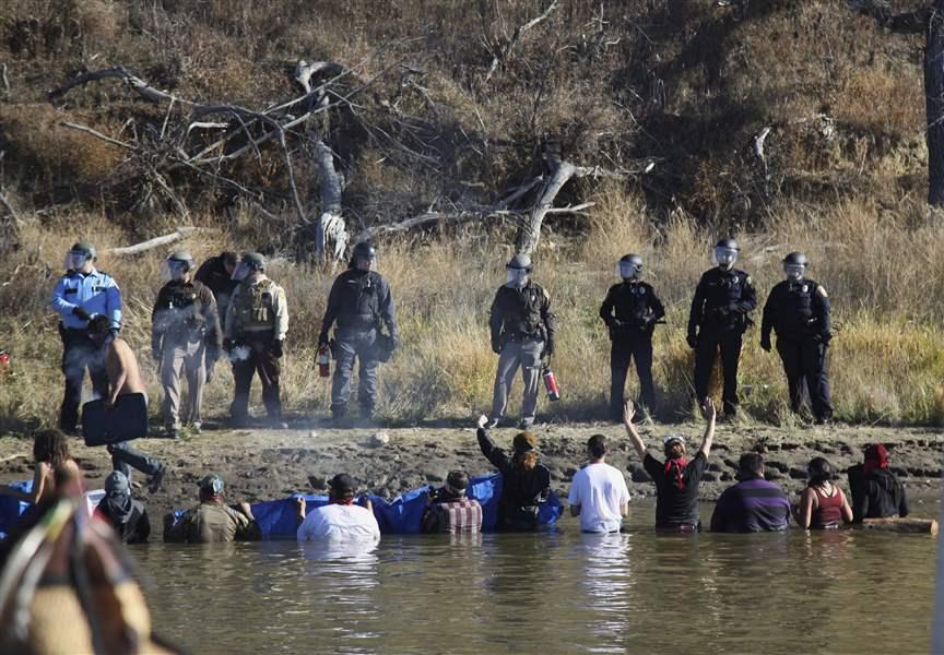 Erin Schrode shot at Standing Rock protest in North Dakota