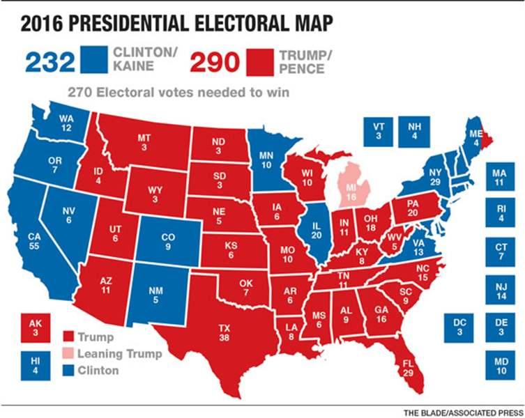 Trump Wins Widest Ohio Margin Since 1988 The Blade