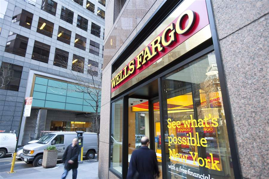 Restrictions imposed onWells Fargo