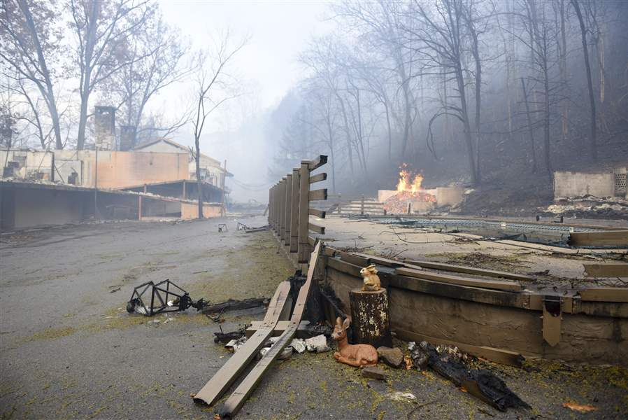 Fires Kill 3 In Gatlinburg Tenn The Blade