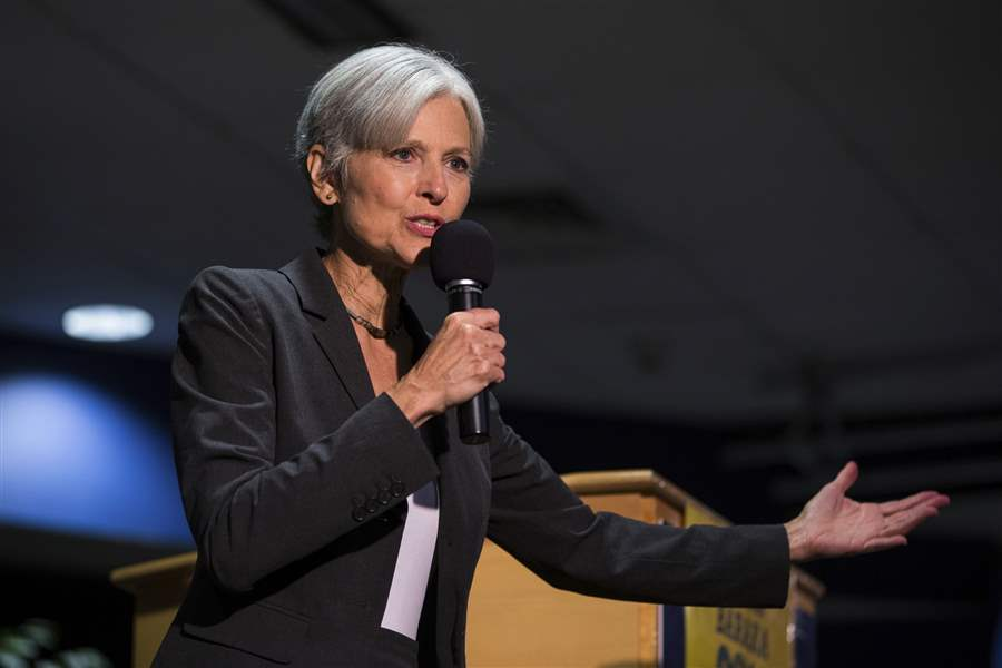 Jill Stein Is Taking Pennsylvania Recount Efforts To Federal Court
