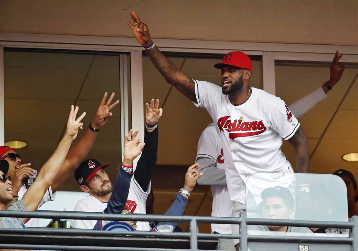 official photos 889d6 d7dd5 James to wear Cubs jersey after Series bet with Wade ...