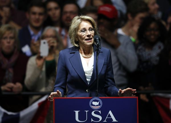 Democrats Want Education Secretary Nominee to Pay 8 Year Old Ohio Fine