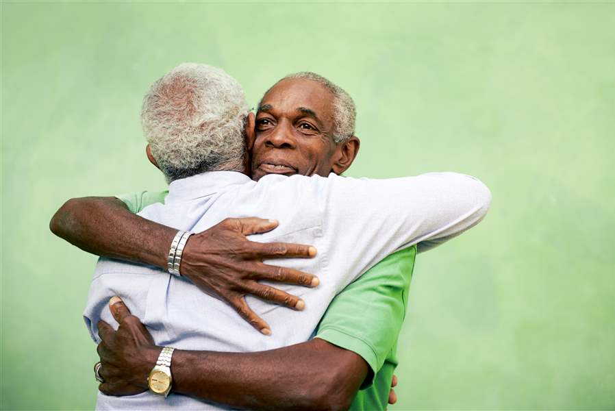 forgiveness hugging someone others american african forgiving person ails friends receive she he open