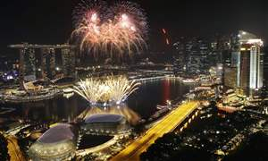 APTOPIX-Singapore-New-Years