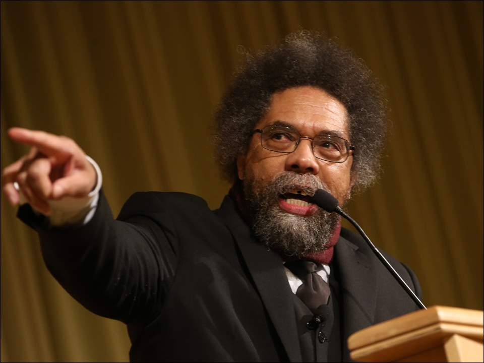 """Citizens, where is the pressure to talk about poverty?"" Cornel West asked."