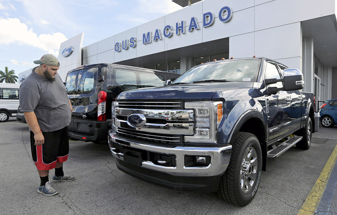 Ford S 4q Loss Laid To Pension Change The Blade