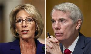 Trump-Education-Secretary-DeVos-and-Portman