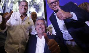 APTOPIX-Ecuador-Presidential-Election