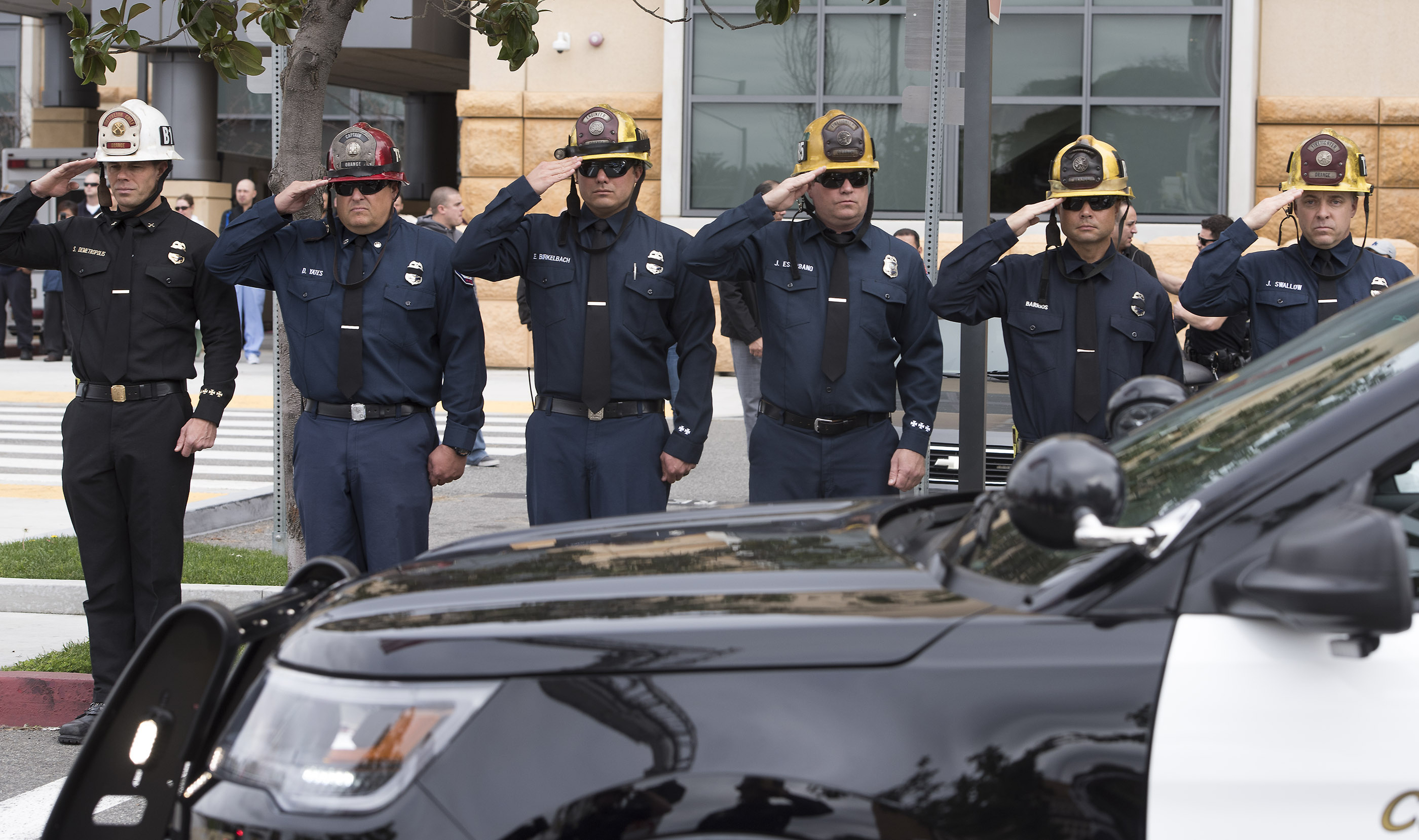 California police officer killed while responding to traffic accident the blade - Police officer in california ...