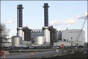 The Oregon Clean Energy Plant on North Lallendorf Road has been approved but is not yet operating as a natural-gas fired power plant. It is set to open in May.