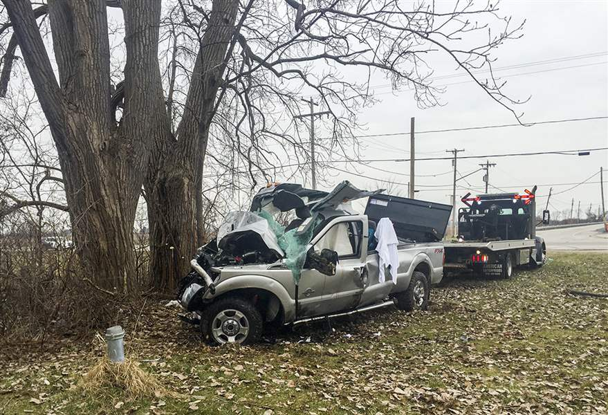 Driver charged in crash that killed 3 in Jerusalem Twp