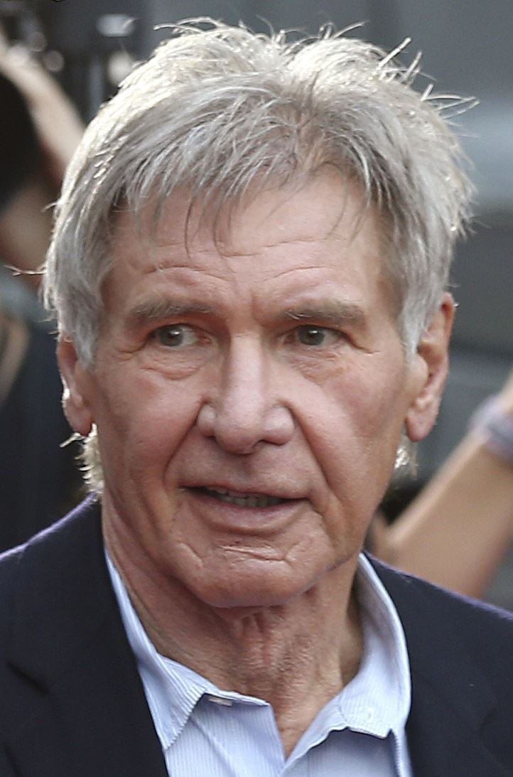 Harrison Ford won't fa...