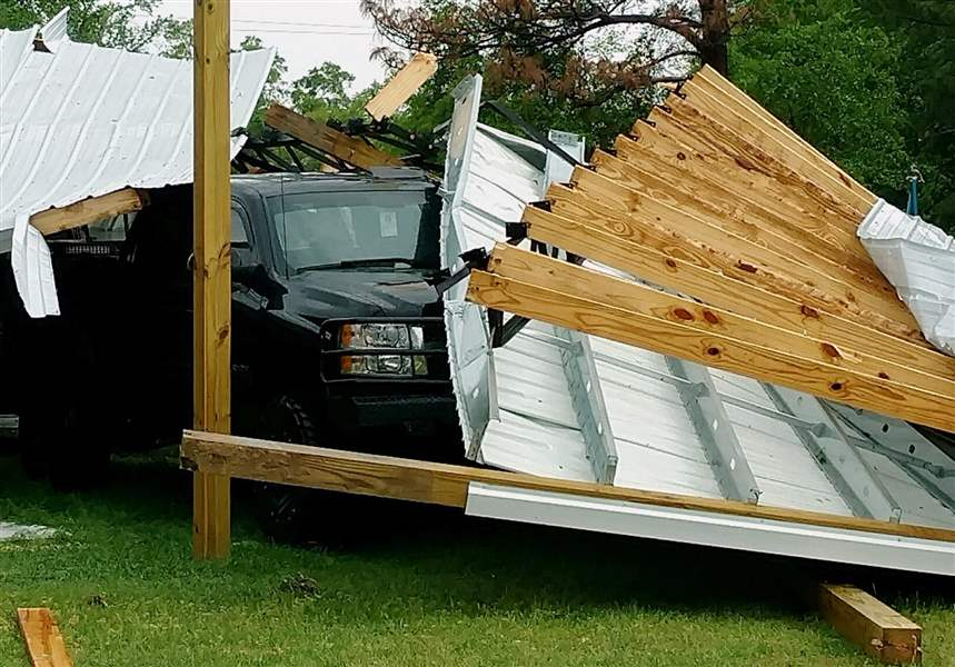 Tornado warning issued for Saluda, Lexington counties