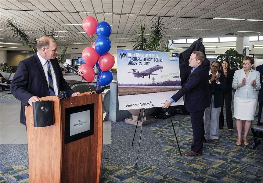 American Airlines to Begin New Nonstop Daily Service From Toledo to Charlotte