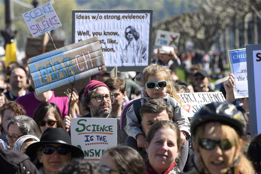 March for Science held in Raleigh on Earth Day