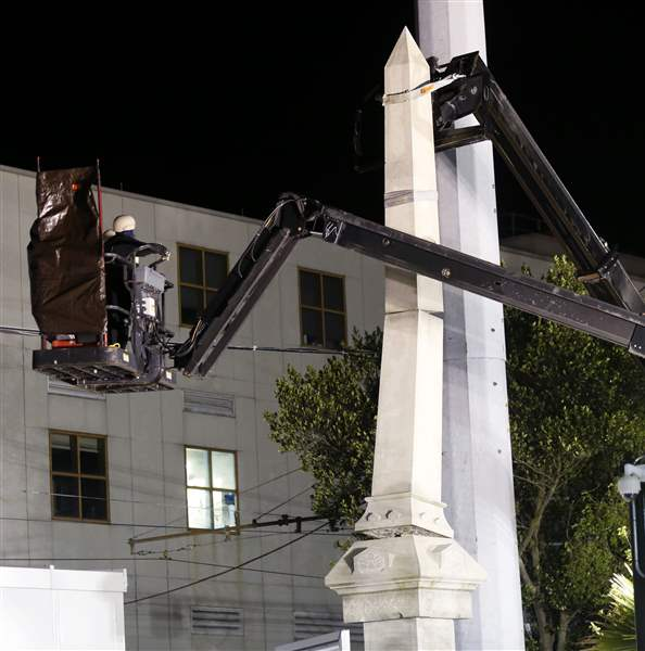 New Orleans to take down Confederate statues