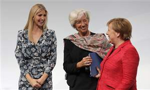 APTOPIX-Germany-Ivanka-Trump