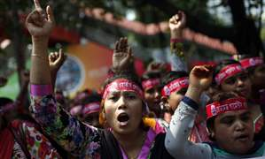 APTOPIX-Bangladesh-May-Day