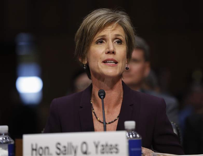 Ex-acting attorney general 'concerned Flynn could be blackmailed by Russians'