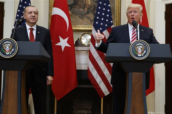 US, Turkey spar over Erdogan visit violence, Kurdish support