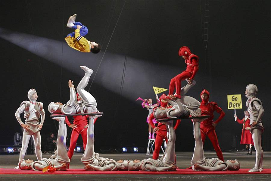 Ringling Bros. Circus gives final performance after 146 years