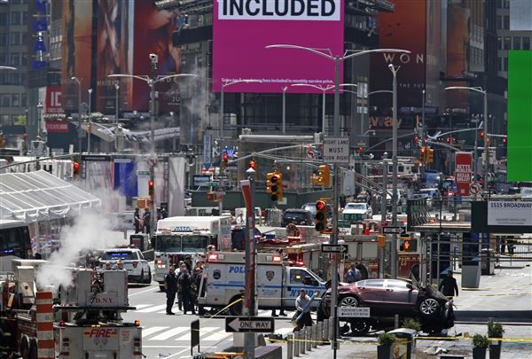Suspect in Times Square auto crash that killed 1 is indicted