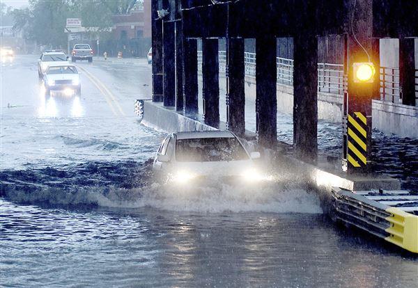 Heavy Rains Spark Flash Flooding In Fort Wayne The Blade