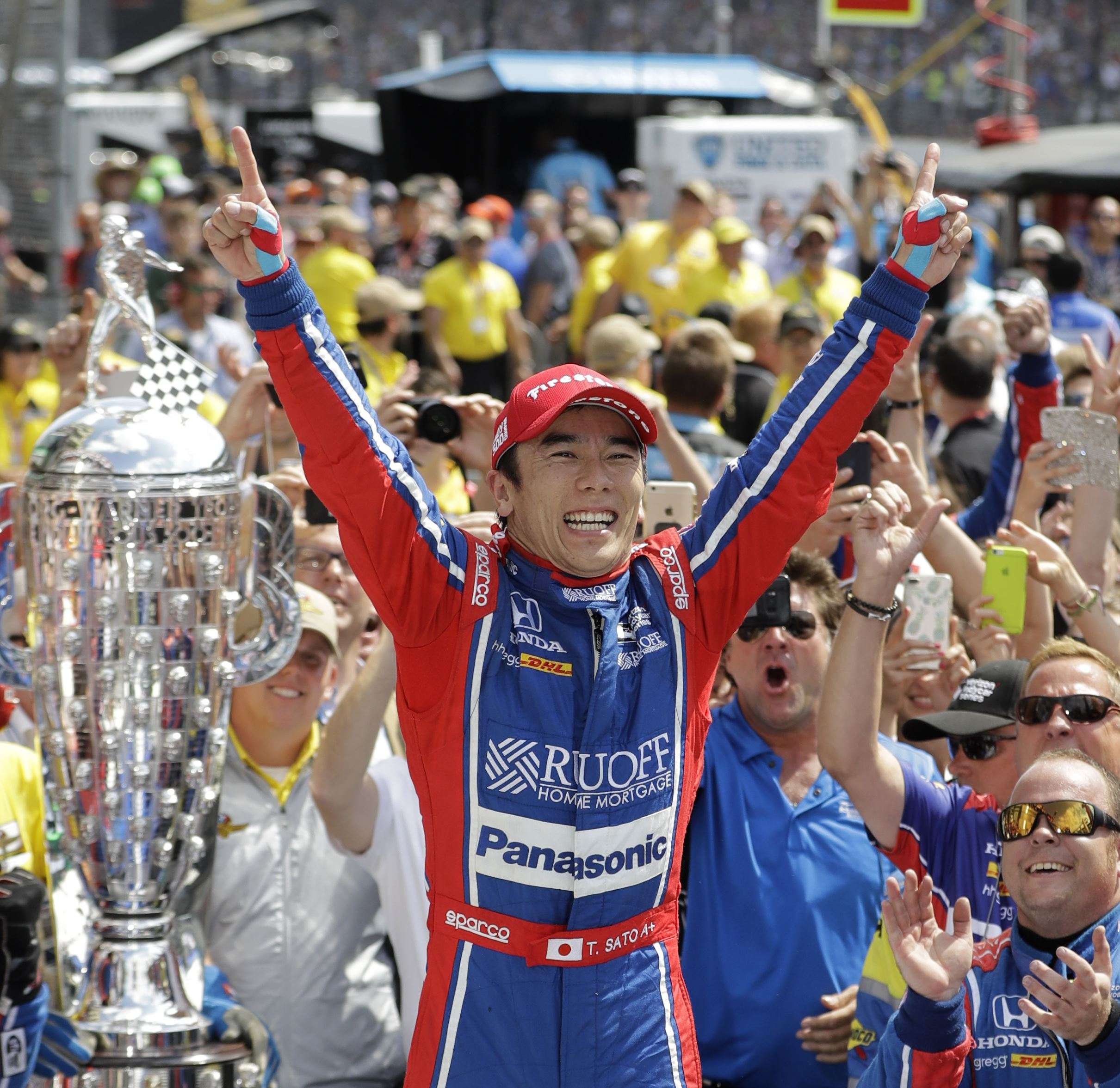 Sato Becomes First Japanese Driver To Win Indy 500