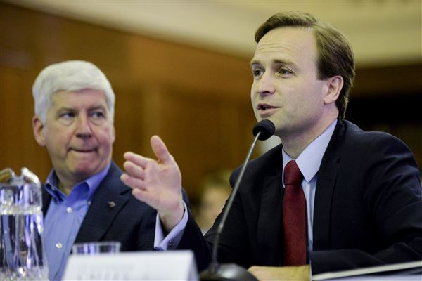 Calley announces ballot proposal for part-time legislature