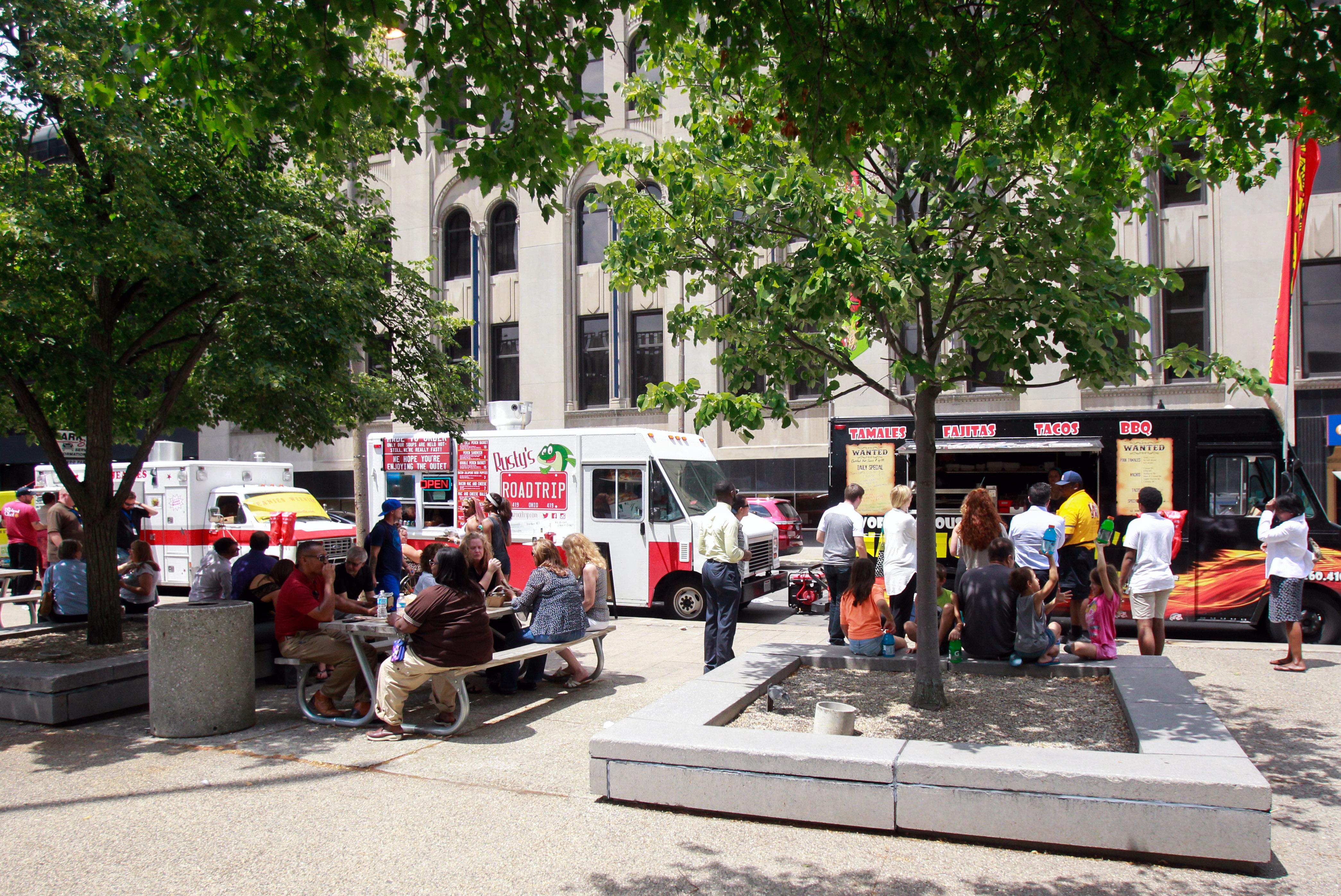 Food Trucks Downtown Toledo Ohio