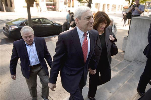 Ex-Penn State officials face sentencing in Sandusky scandal