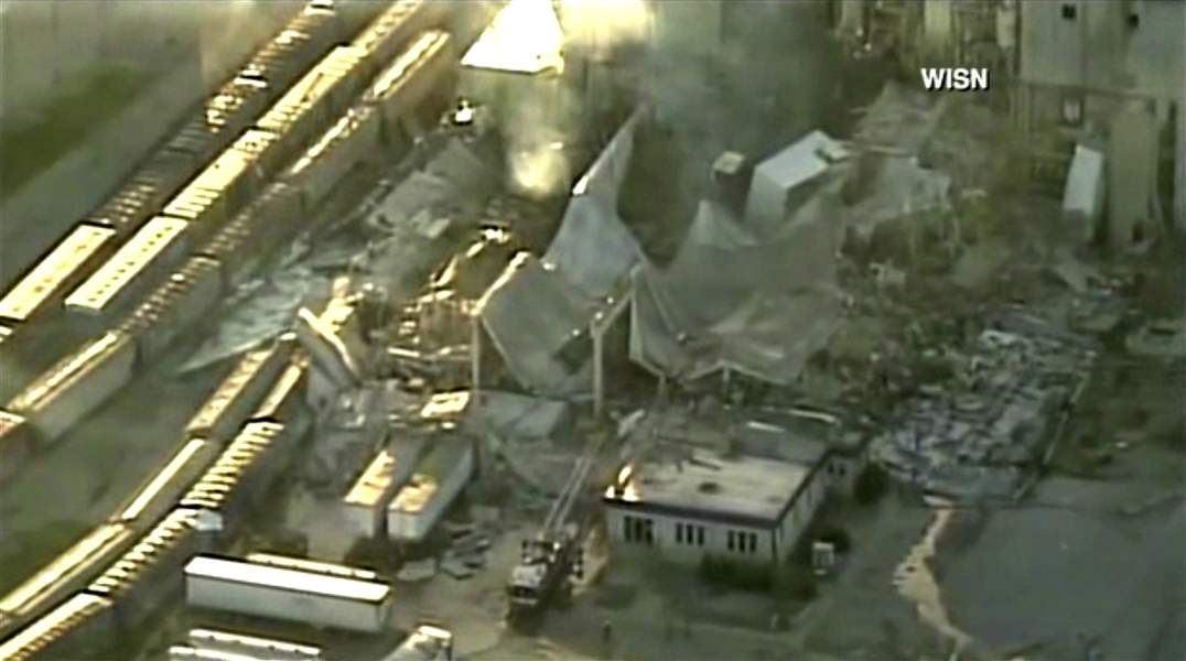 Body of third employee killed in corn mill explosion recovered Sunday