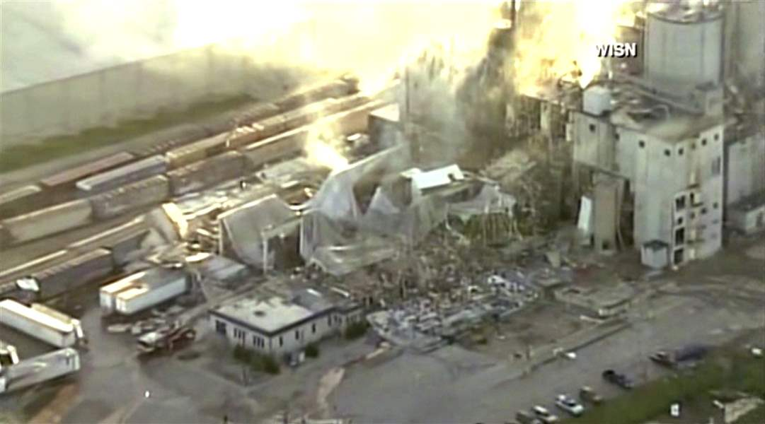 3rd worker found dead after blast at Wisconsin corn mill