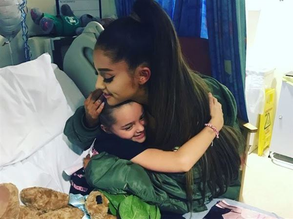 Big names in music join Ariana Grande at benefit concert in Manchester