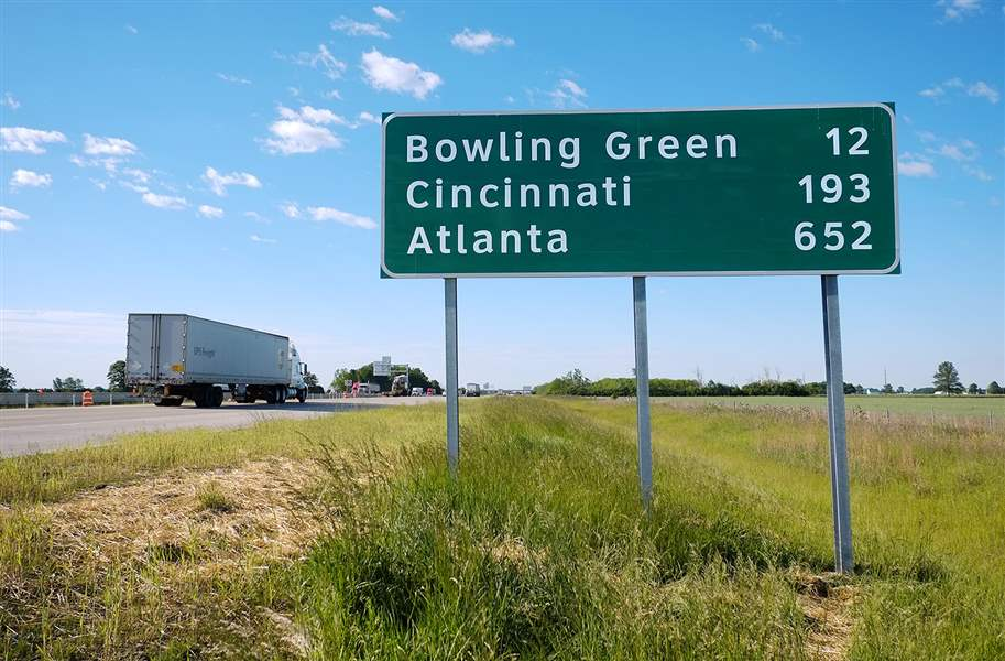 New Signs On I 75 Help Steer Drivers To Faraway Places