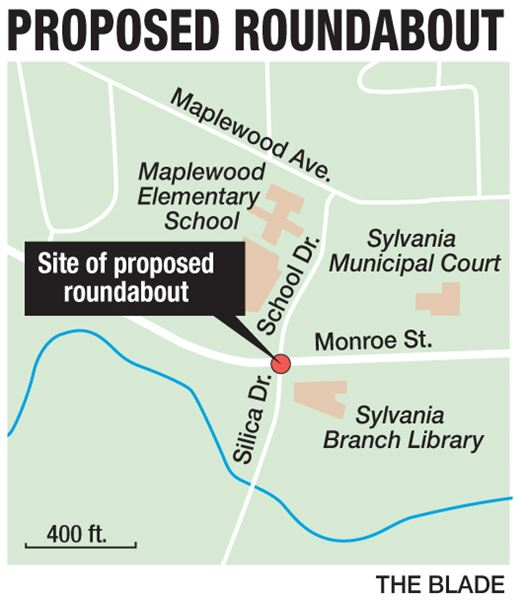 Roundabout Planned Near Sylvania Northview The Blade