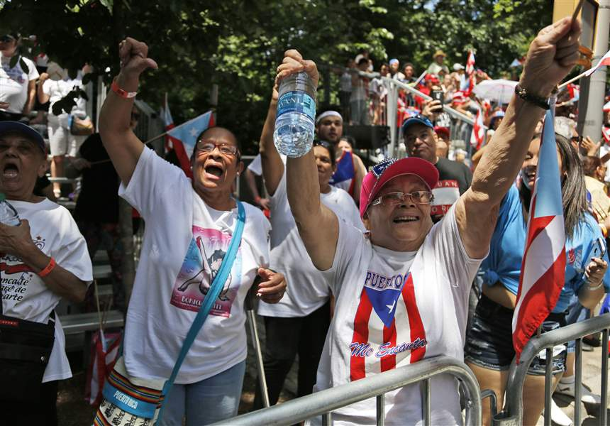 Puerto Rico overwhelmingly votes for possible statehood