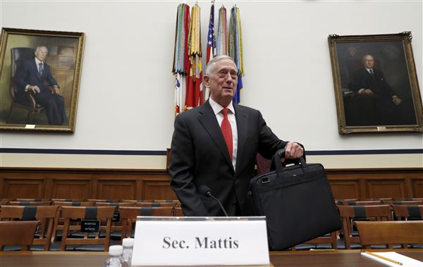 US Defence Secretary Mattis 'shocked' by low level of US military readiness