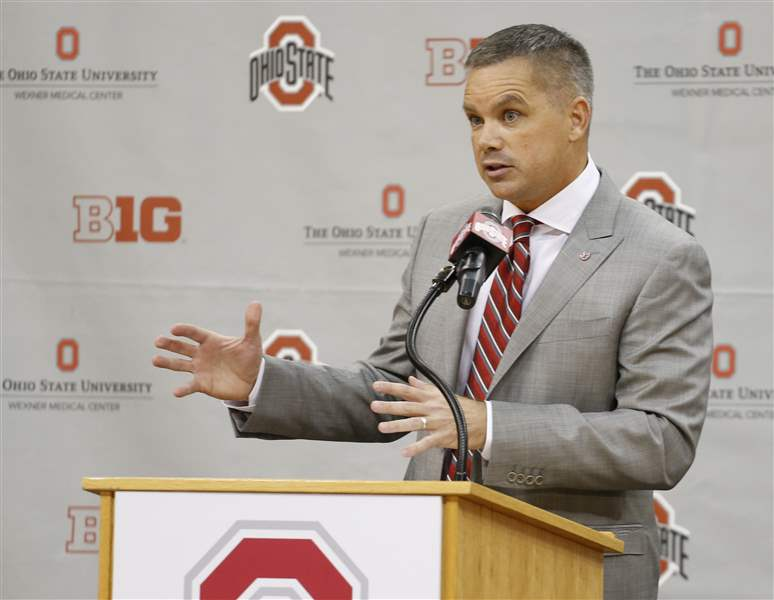 Ohio State AD says Holtmann was top choice to lead Buckeyes