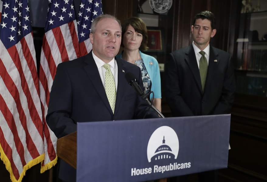 Scalise had 'severe internal bleeding,' needs several more operations: hospital