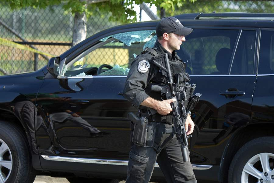 Congressmen at GOP Baseball Shooting Credit Capitol Police for Preventing 'Massacre'
