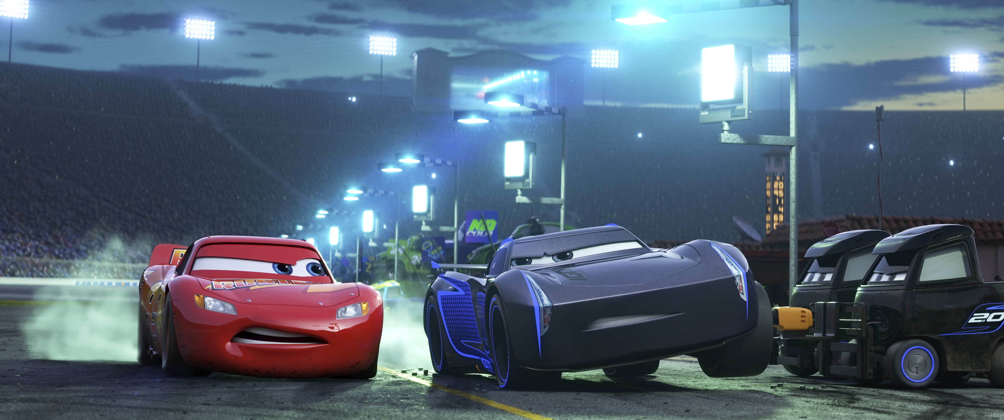 Cars 3 covers familiar ground