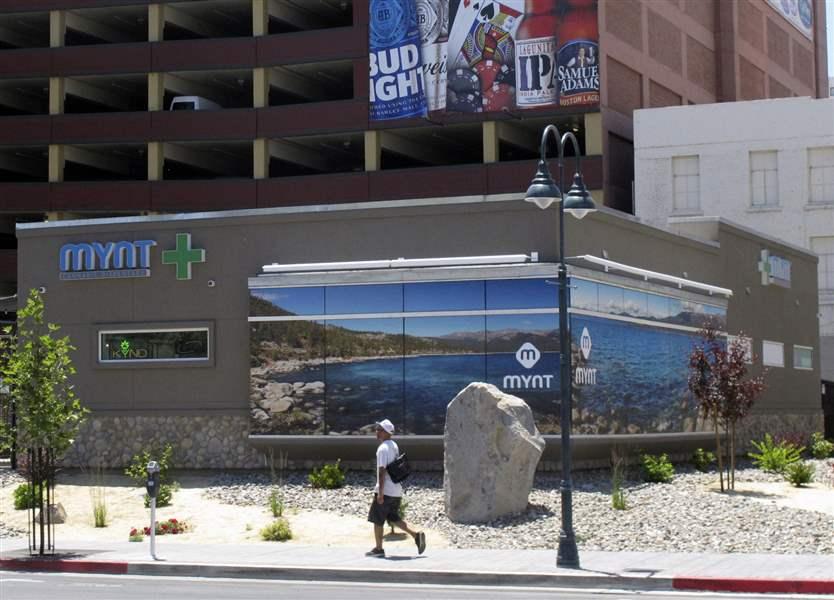 Nevada's on-again, off-again marijuana sales back on