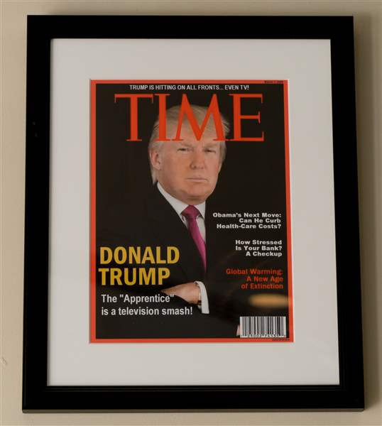 Time asks Trump Organization to remove fake cover from golf clubs