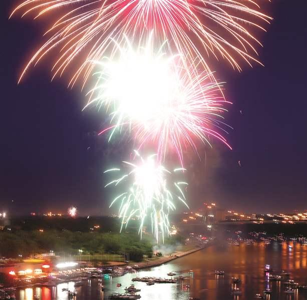 Remember fireworks safety when celebrating