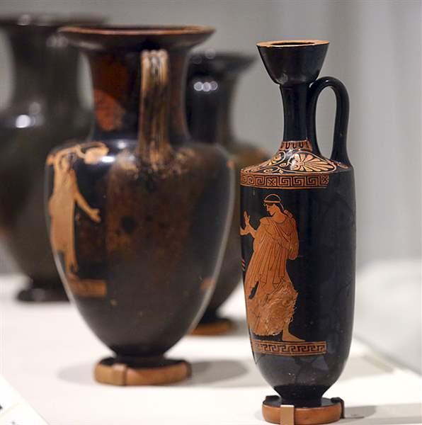Museum's Greek vases exhibit features gods, heroes - The Blade